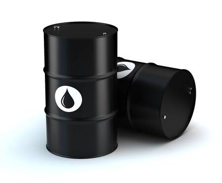 gas cylinder: Oil Barrels