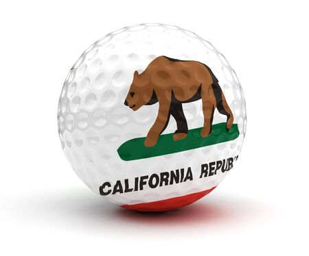 golf of california: California Golf Ball