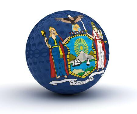 newyork: Newyork Golf Ball