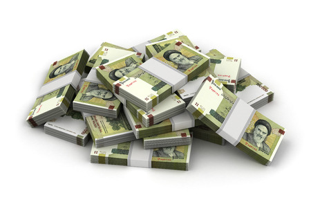 iranian: Stack of Iranian Rial