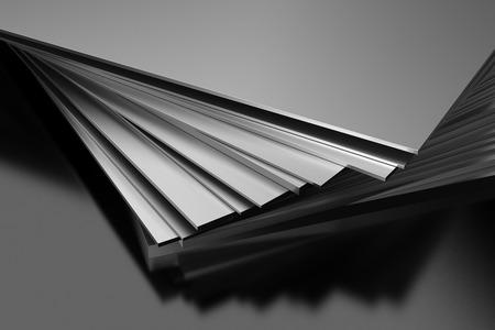 Plaques métalliques Banque d'images - 39583119