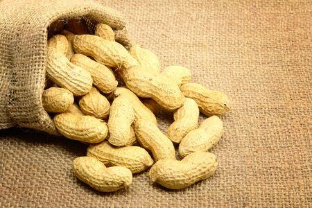 gunny: Peanuts Stock Photo
