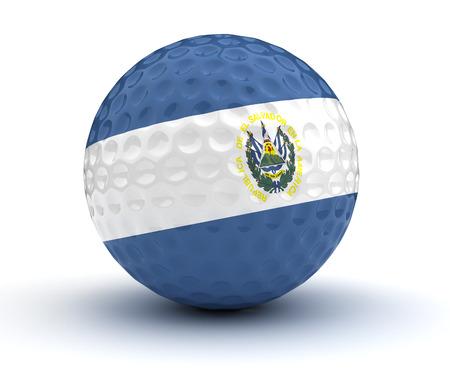 el salvador: El Salvador Golf Ball.