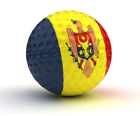 moldovan: Moldovan Golf Ball.
