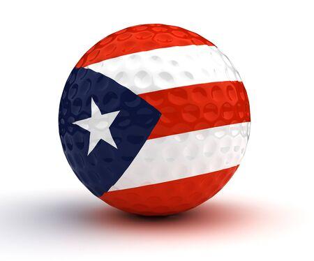 puerto rican: Puerto Rican Golf Ball.