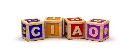 ciao: Ciao Text Cube