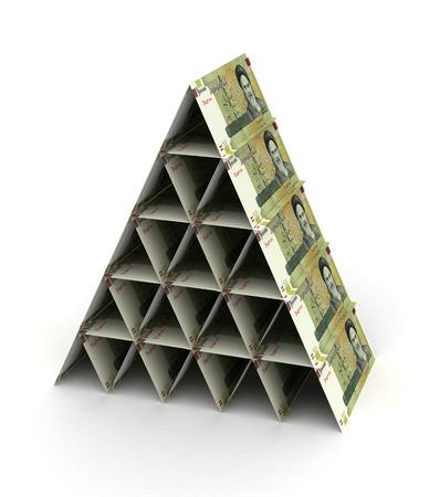 iranian: Iranian Rial Pyramid