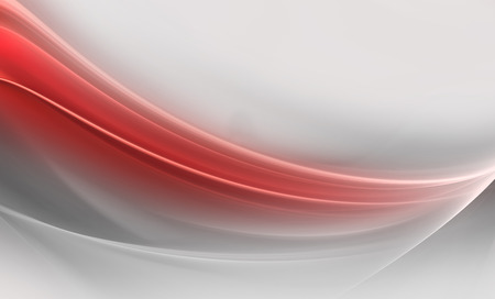 red wave: Abstract Gray Background Stock Photo