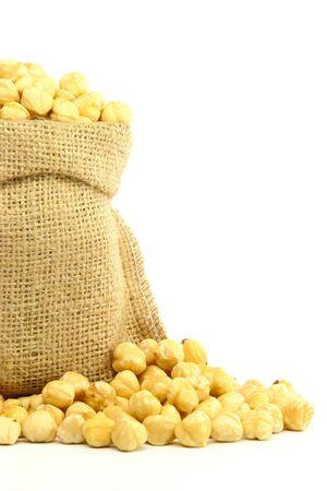 avellanas: Hazelnuts in Bag