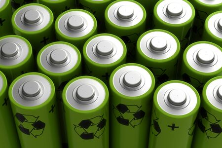 rechargeable: Rechargeable Battery Stock Photo