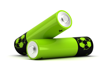 Rechargeable Battery Stockfoto