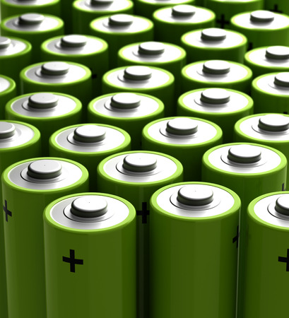 power supply: Rechargeable Battery Stock Photo