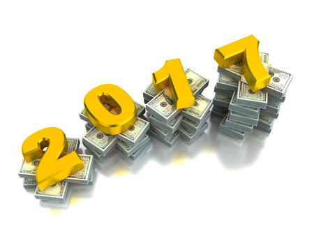 year increase: Growing Economy 2017