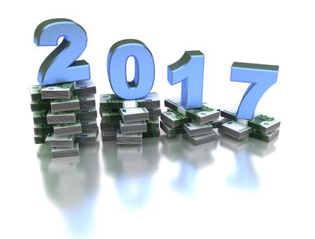silver bars: Bad European Economy 2017 Stock Photo