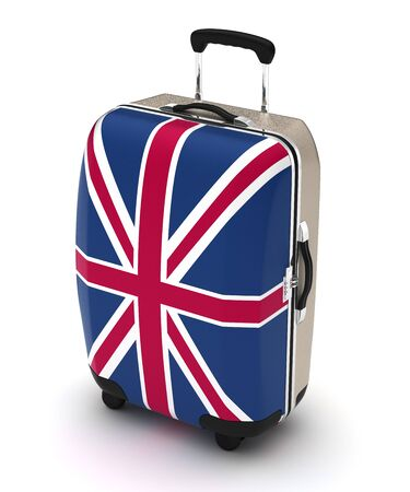 Travel to United Kingdom (isolated with clipping path)