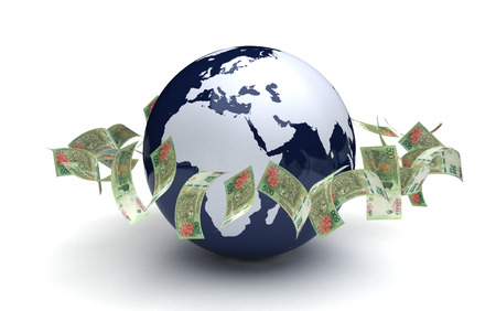 Global Business Argentina Pesos Currency