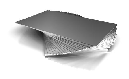 Industriële metalen platen Stockfoto