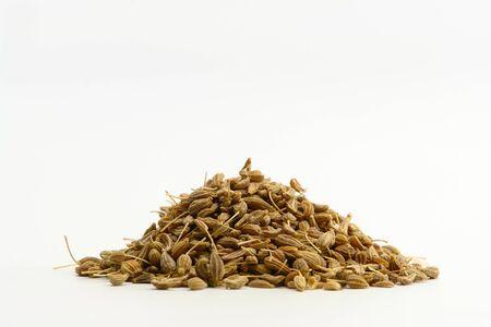 Small Amount Anise Seed Stockfoto