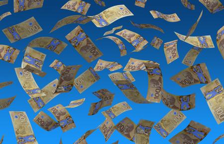 voler dollar canadien