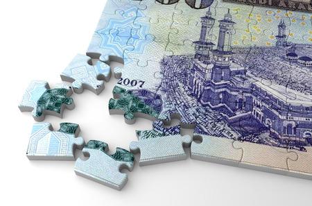 Saudi Arabian Riyals Puzzle