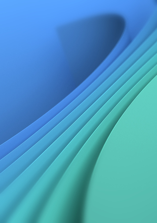 Modern Blue Green Background