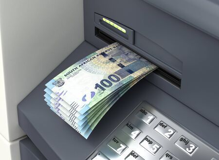 Withdrawal South African Rand From The ATM