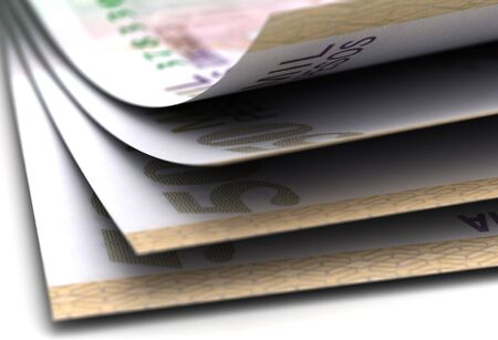Primo piano di valuta del pesos colombiano