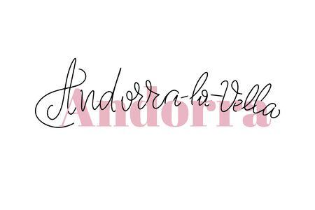 Inspirational handwritten brush lettering. Vector calligraphy illustration