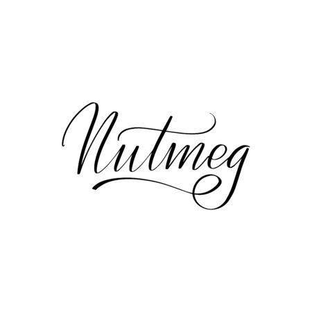 Inspirational handwritten brush lettering . Vector calligraphy illustration
