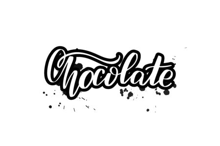 Vector calligraphy illustration isolated on white background  イラスト・ベクター素材