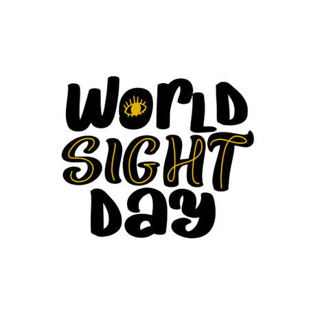 World Sight Day Vector Design Template. Great vector