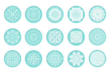 Highlights icon. Stories Covers abstract Icons. Set of vector icons  イラスト・ベクター素材