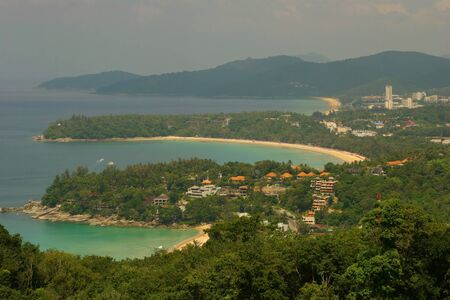 Big view on northern part of Phuket photo