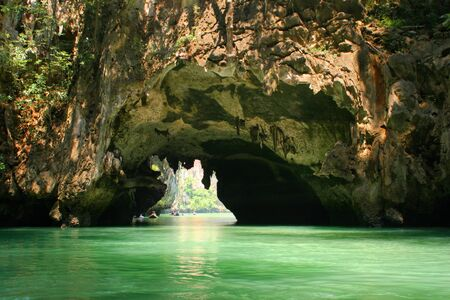 Tropical islands and lagoons near to Phuket