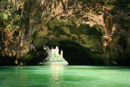 Tropical islands and lagoons near to Phuket Stock Photo - 4537111