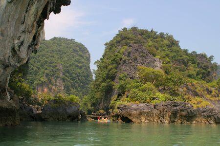 Tropical islands and lagoons near to Phuket Stock Photo - 4536672