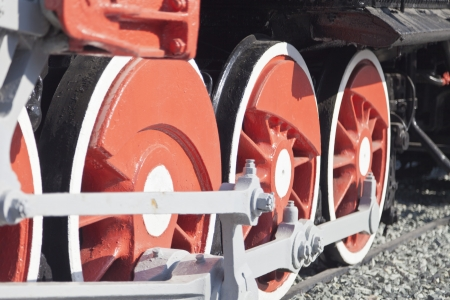 colorado railroad museum: The ancient engine as a monument at the railway station