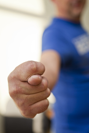 Fig finger as a sign of failure in anything photo