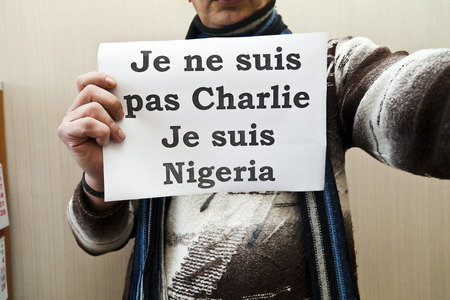 against: Je ne suis pas Charlie - it is a protest against marasmus