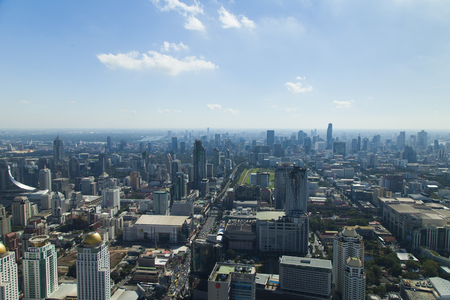 unforgettable: The city from height of birds flight - an unforgettable show Editorial