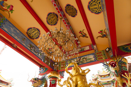The Buddhist temple stands as a reminder on frailty of real