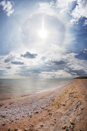 Black Sea coast in summer Stock Photo