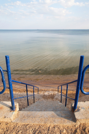 Black Sea coast in summer Stock Photo