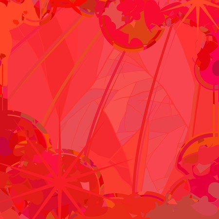 Abstract background in different shades of red color Illustration