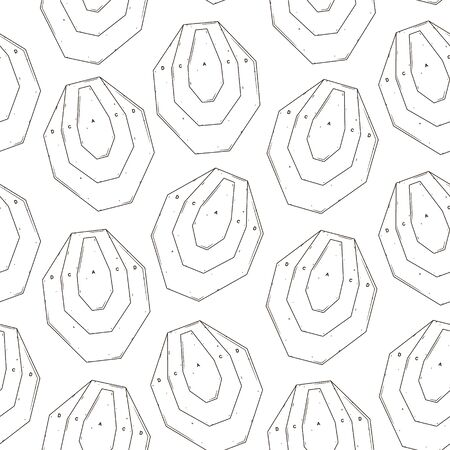 Seamless pattern with target. Vector illustration for your design