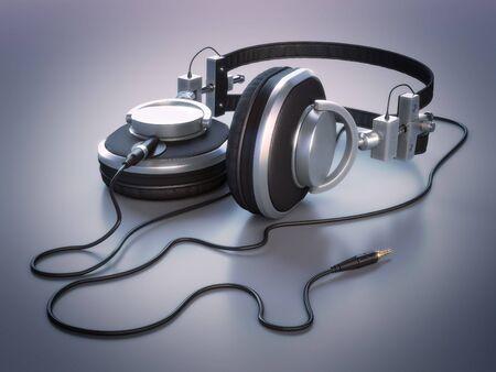 jackplug: Headphones (high-res 3D render)