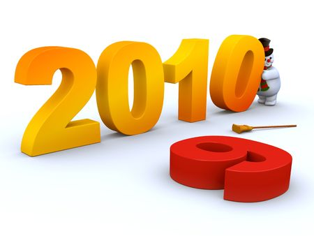2010 Continues 2009 Stock Photo - 6054256