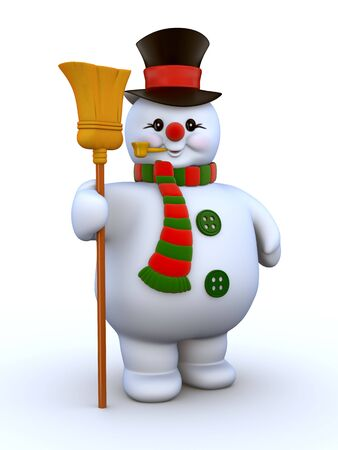 Cosy Snowman Stock Photo - 6054333