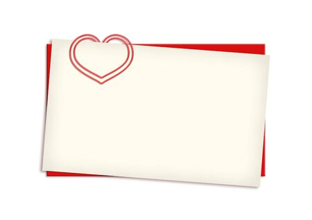Valentine card copyspace (love, valentine day series; 3d isolated characters)