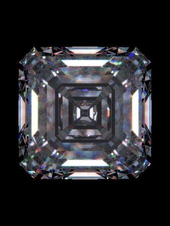 trillion: Diamond emerald square (love, valentine day series)